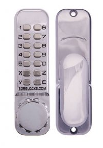 Borg BL2620MGBC Digital Door Lock