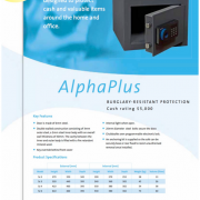 CHUBBSAFES ALPHA PLUS1