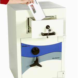 CHUBBSAFES MINIBANKER – Drawer Trap Deposit – $25,000 Suggested Cash Rating