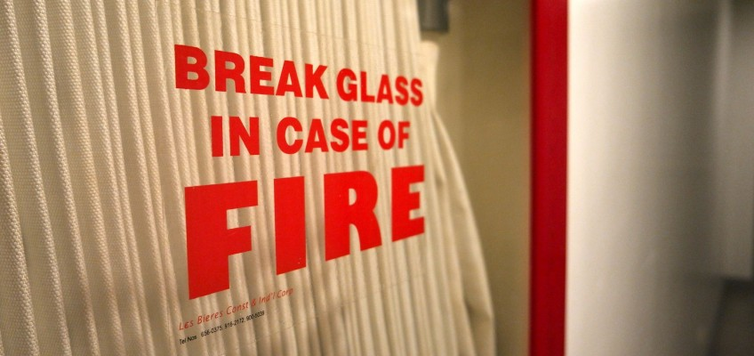 Fire safety procedures – businesses and industry